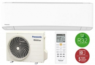 Panasonic KIT-NZ35-VKE Nordic Etherea (wifivel, R32, 4 kW)